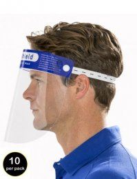RV08: Face Shields (pack of 10)