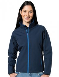 RS231F: Ladies Contrast Soft Shell Jacket