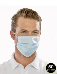 RV04: Disposable Face Masks (pack of 50)
