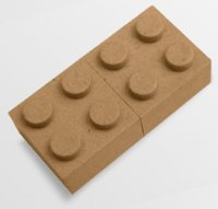 USB-LP1: 'Lego' Recycled Paper USB