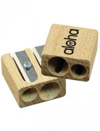 SHP02: Double Wooden Sharpener