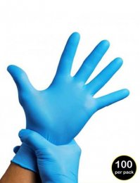 RV06: Disposable Vinyl Gloves (pack of 100)