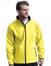 RS231M: Contrast Soft Shell Jacket