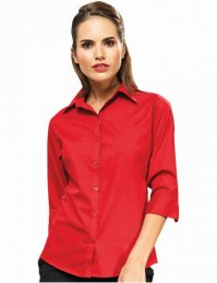 WS11: Ladies' 3/4 Sleeve Blouse