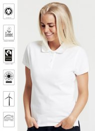 OT22: Ladies Organic FAIRTRADE Polo Shirt