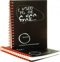 A0056: Recycled Tyre Note Pad
