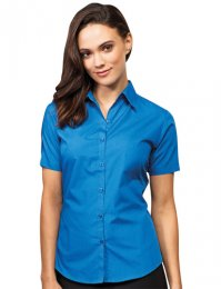 WS10: Ladies' Short Sleeve Blouse