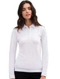 LP3: Ladies Long Sleeve Stretch Polo