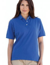 PL5: Ladies Cotton Rich Polo Shirt