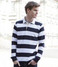 RS11: Striped Rugby Shirt