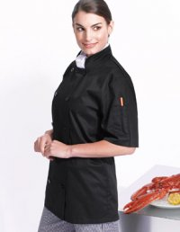 SCJ1: Short Sleeve Chef's Jacket