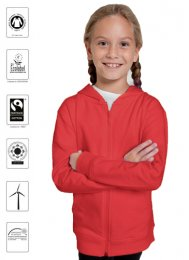 OT31Z: Children's Organic FAIRTRADE Zoodie