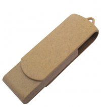 USB-ED1: Eco Twist Recycled Paper USB
