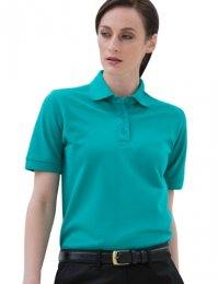 PL15: Ladies Heavy Poly/Cotton Polo Shirt