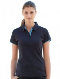 CNT1: Contrast Cotton Polo Shirt
