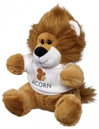 PLI01: Plush Lion with Tee Shirt