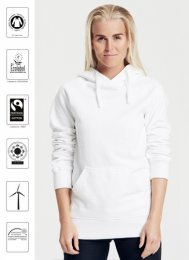 OT83: Ladies Organic FAIRTRADE Hoodie