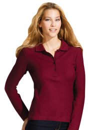GS31: Ladies Long Sleeve Polo Shirt