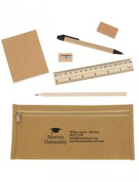 ECO13: Eco Pencil Case Set