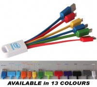 USB01: 6-in-1 Charging Cable