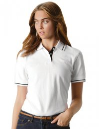 PM4: Ladies Tipped Polo Shirt