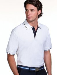 PM5: Tipped Contrast Placket Polo Shirt